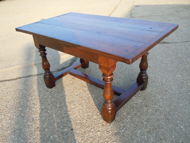 Great A Small 17th/18th Century Oak Refectory Table