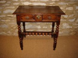 A Small 17th Century Side Table
