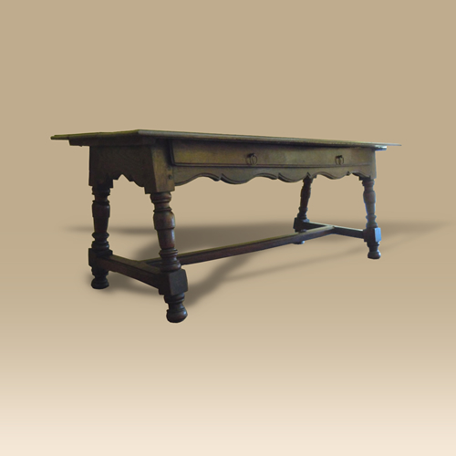 An 18th Century Walnut Low Table.