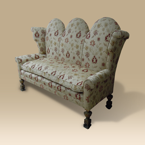 An 18th Century Wing Back Settee