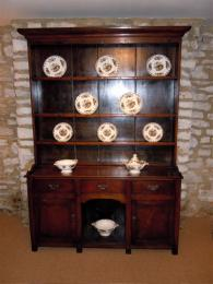 An Early 19th Century Oak Dog Kennel Dresser