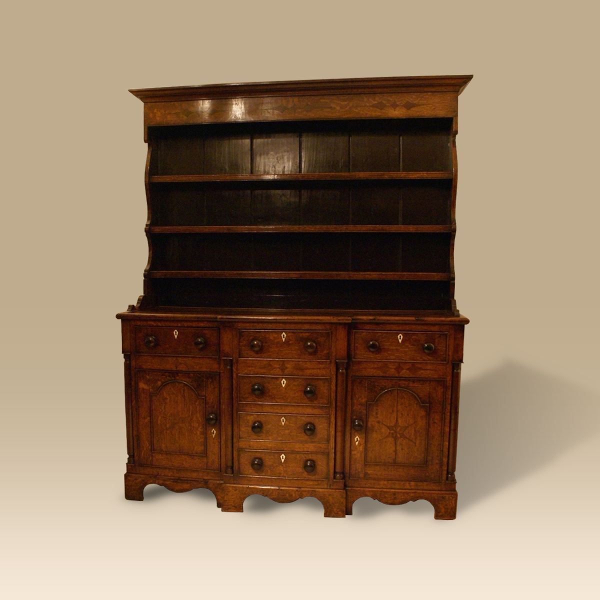 An Early 19th Century Oak Dresser