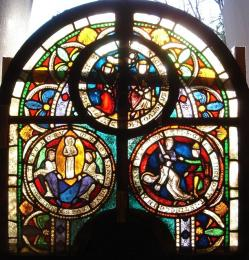 An Early Medieval Stained Glass Window