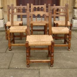 Circa 1700 Spanish Walnut Chairs