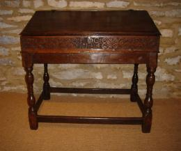 Early 18th Century Oak Desk