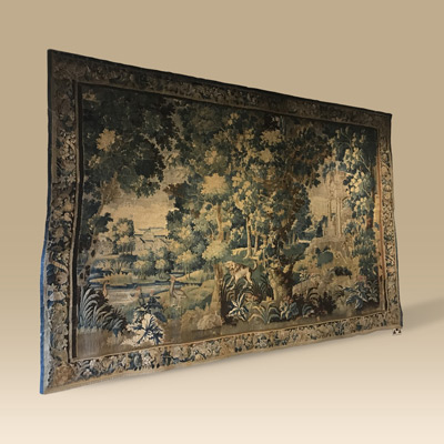 Large 18th Century Aubusson Tapestry