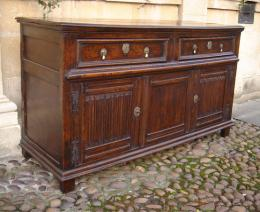 Late 17th Century Oak And Ash Dresser