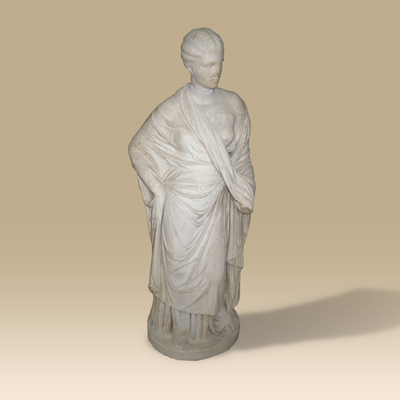 Marble Statue Of Demeter From the estate of William Moennig from Philadelphia