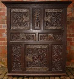 Mid 16th Century Westphalian Oak Cupboard