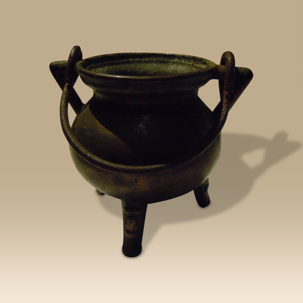 Rare Bronze 16th/17th Century Goldsmith's Cauldron