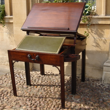 Rare Mid 18th Century Architect Table - Rare Mid 18th Century Architect UK - Antique Oak Furniture UK