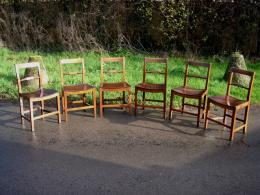 Set Of 6 Early 19th Century Chairs