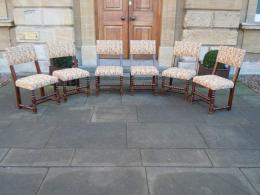 Set Of Six 17th Century Walnut Chairs
